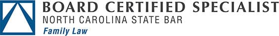 Board Certified Specialist | North Carolina State Bar | Family Law